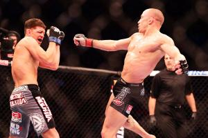 Georges St.-Pierre defeated Nick Diaz via unanimous decision during UFC 158 in March.