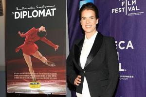 Katarina Witt attends the special screening of the ESPN Nine for IX: 'The Diplomat,' a documentary of her rise to stardom during the Cold War.