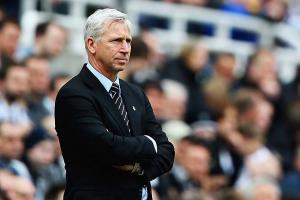 Alan Pardew and Newcastle are in 17th place, five points clear of relegation.