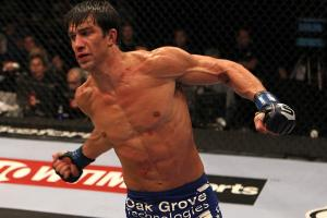 A promising fighter who has endured a rash of injuries, Luke Rockhold debuts in UFC on Saturday.