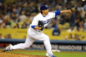 Hyun-Jin Ryu has hurled 51 strikeouts and put up a 3.40 ERA through 50.1 innings pitched this season.