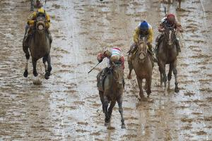 Orb's final charge to victory at the muddy Kentucky Derby showed off his closing speed.