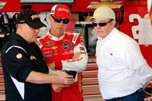 When Kevin Harvick leaves, Richard Childress (right) could find his organization is in serious trouble.