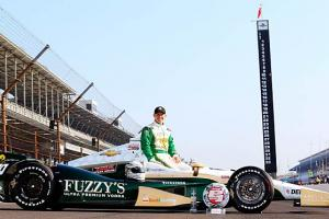 Ed Carpenter is a throwback to the days when American drivers routinely won the Indy 500.