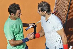 Rafael Nadal trounced Roger Federer in Rome, but Federer will be seeded higher in Paris.