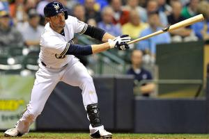 Though he's an offensive force, Ryan Braun was a risky draft pick because of a possible suspension.