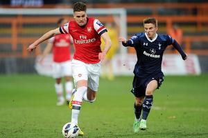 Arsenal's Carl Jenkinson and Tottenham's Tom Carroll have made the first-team leap after starring at the U-21 level.