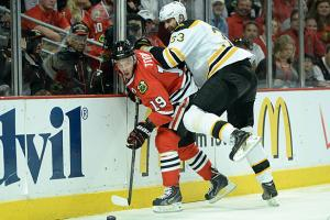 Whether Jonathan Toews plays in Game 6, and how well he plays, will have a huge effect on the series.
