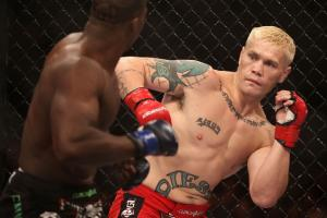 Joe Riggs, 30, (right) is hoping to resuscitate his career with a shot on Bellator MMA: Fight Master.