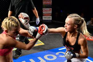 Amateur MMA fighter Rachel Wray will face Bobby Bedard on Saturday.