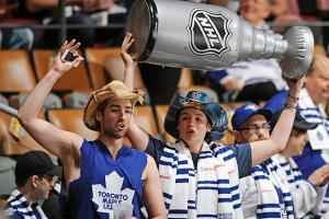 Eternally optimistic Leafs fans are having their hopes inflated by the team's upper management.
