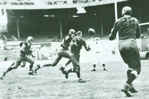The Bears downed the Giants 23-21 in the inaugural NFL Championship Game in 1933.