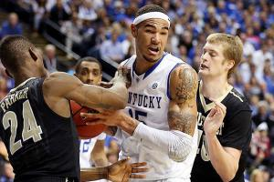 Kentucky's Willie Cauley-Stein averaged 8.3 points and 6.3 rebounds a game during his freshman season.