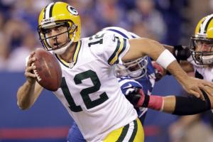 In a poll of 12 NFL G.M.s, six said they would build a team around Packers' quarterback Aaron Rodgers.