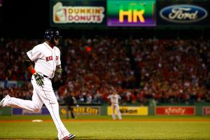 David Ortiz had the first multi-homer game of his career against the Rays in Game 2 of the ALDS.
