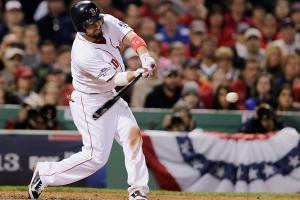 Shane Victorino's seventh-inning grand slam propelled Boston to its third World Series in 10 years.