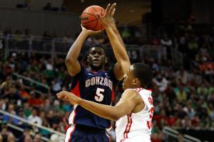 Gonzaga's Gary Bell, Jr. was sidelined in the second half of last season with a stress fracture in his ankle.