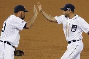 Reliever Joaquin Benoit and second baseman Omar Infante are two key free agents Detroit should try and retain.