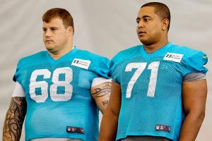 NFL personnel don't defend Richie Incognito (68), but some think Jonathan Martin