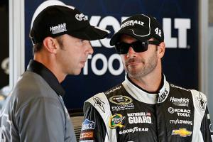 Chad Knaus and Jimmie Johnson are motivated by having let the 2012 Cup slip away at Phoenix.