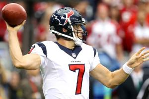 Case Keenum has yet to throw an interception since earning the starting quarterback job for the Texans.