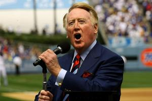 Legendary sportscaster Vin Scully will be entering his 65th season on the air this coming spring.
