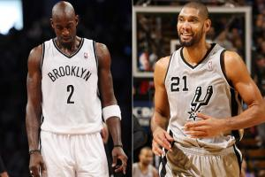 Both Kevin Garnett and Tim Duncan are averaging career lows in points, but one is 3-10 and one is 13-1.