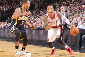 Last season's Rookie of the Year Damian Lillard is averaging 20.2 points and 5.7 assists this year.