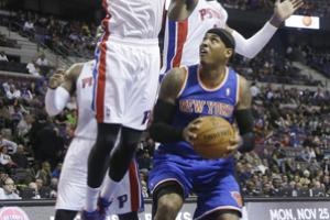 Despite the Pistons' big frontcourt, they rank just No. 22 in defensive field goal percentage.