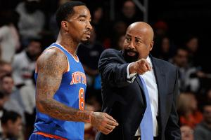 J.R. Smith was recently benched by Mike Woodson after being fined $50,000 for his shoelace stunt.