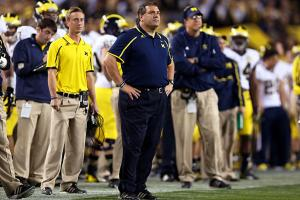 Brady Hoke is 26-13 (15-9 Big Ten) since becoming Michigan's head coach prior to the 2011 campaign.