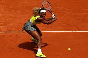 Serena Williams looked nothing like her usual dominant self against No. 35 Garbine Muguruza.