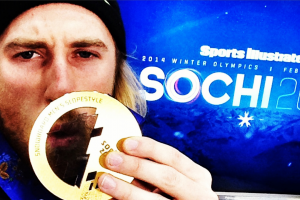 #EpicGoldMedalSelfies with Sage Kotsenburg