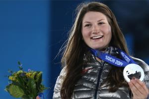 U.S. slopestyle silver medalist Logan afraid of heights...