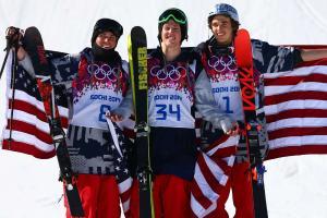 U.S. slopestyle skiing trio: New world, same old friend...