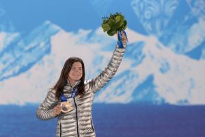 U.S. snowboarder Kelly Clark on winning third Olympic m...