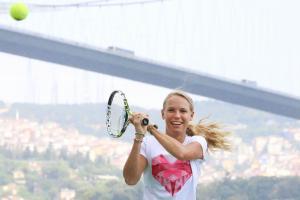 Wozniacki on running the upcoming New York City Maratho...