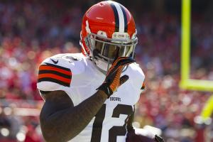 Report: Browns WR Josh Gordon's ban to be reduced to ei...