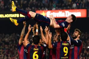 Watch: Lionel Messi breaks Telmo Zarra's record with ha...