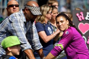 Hope Solo's husband was driving U.S. Soccer van when ar...