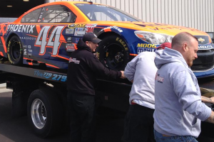 Stolen Sprint Cup car found outside of Atlanta