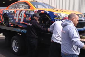 Stolen Sprint Cup car found outside of Atlanta
