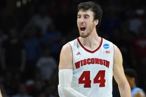 Wisconsin forward Frank Kaminsky has been named the AP...