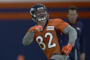 Broncos TE was expected to help fill Julius Thomas' voi...
