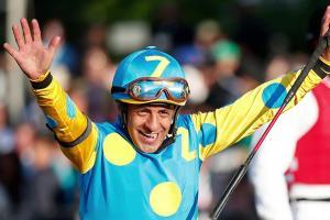 American Pharoah's jockey to donate Belmont Stakes wi...