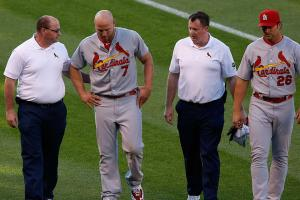 Cardinals place Matt Holliday (quad) on 15-day DL