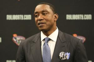 WNBA, Liberty suspend consideration of Isiah Thomas's o...