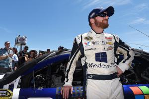 Dale Earnhardt Jr. on his emotional return to racing in...