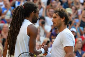 Rafael Nadal upset in second round of Wimbledon