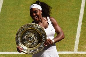 Serena beats Muguruza in straight sets at Wimbledon